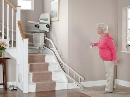 curved stairlifts Stoke-on-Trent