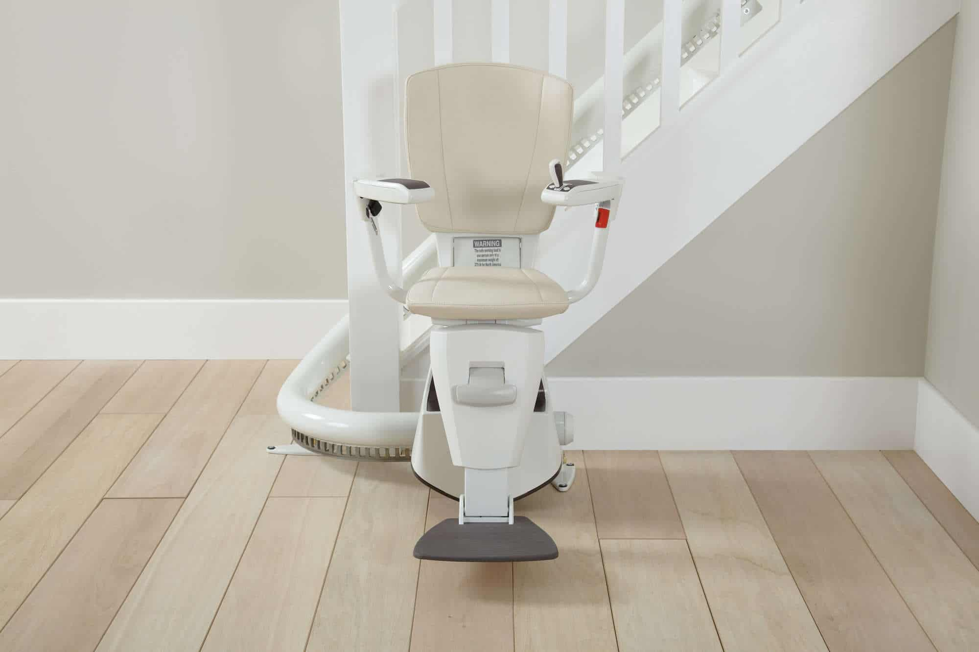 thyssen flow 2 stairlifts flow ii for narrow stairs multicare mobility. Black Bedroom Furniture Sets. Home Design Ideas