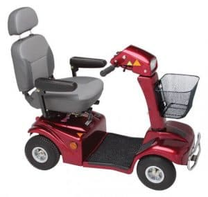 388 delux mobility scooter