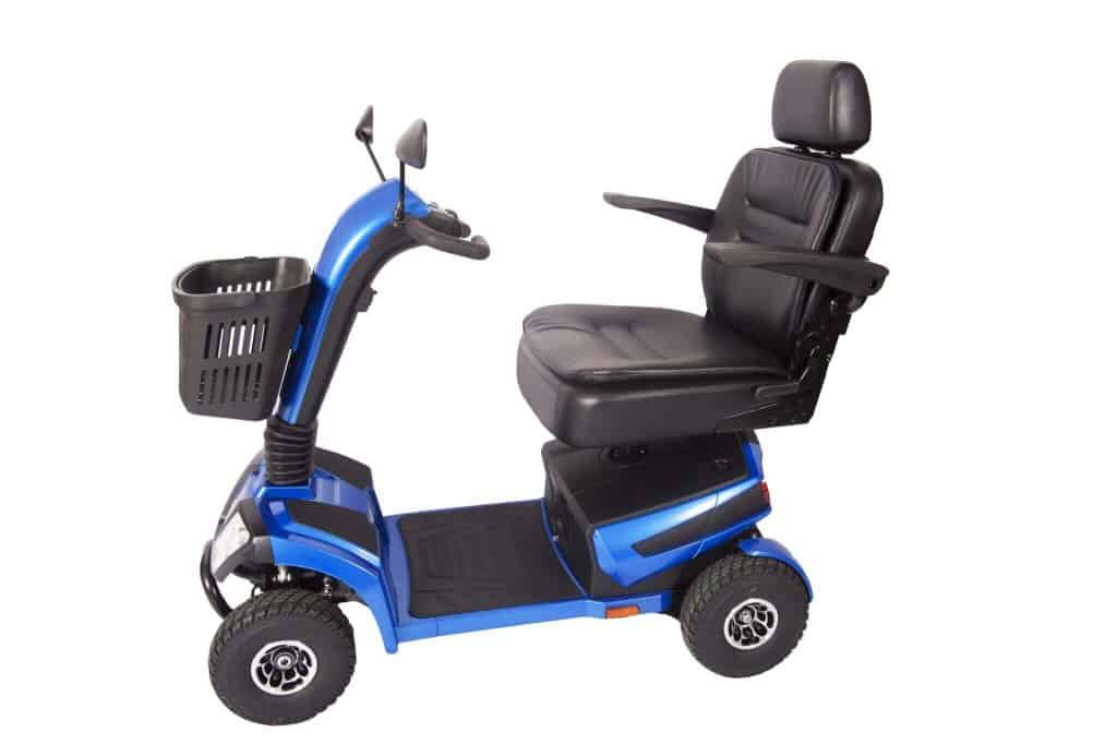 One Rehab Liberator Blue Mobility Scooter