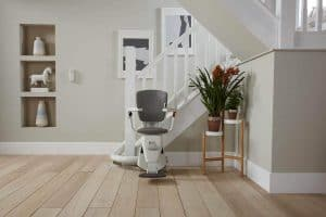 Flow 2 Curved Stairlift Bolton