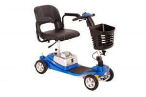 One Rehab Illusion Blue Mobility Scooter