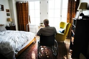 Less old people downsizing home in the UK