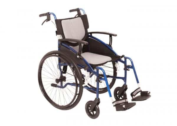 Sonic Wheelchair blue