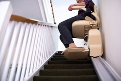 How fast does a stairlift travel?