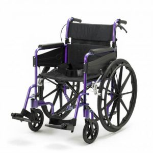 Self Propell wheelchair purple
