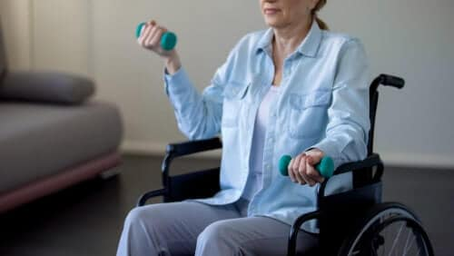chair exercises for seniors or wheelchair users